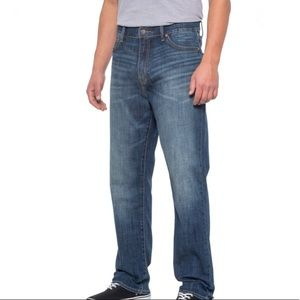 Lucky Brand 410 Athletic Slim Jeans 36/30